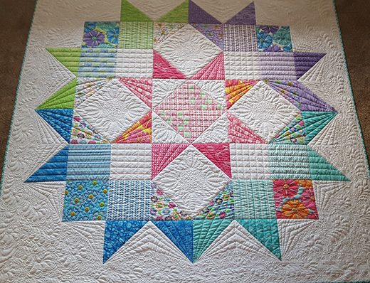 Moda Love Quilt Designed by Colleen of Colleens Quilting Journey, The Pattern by Moda fabrics