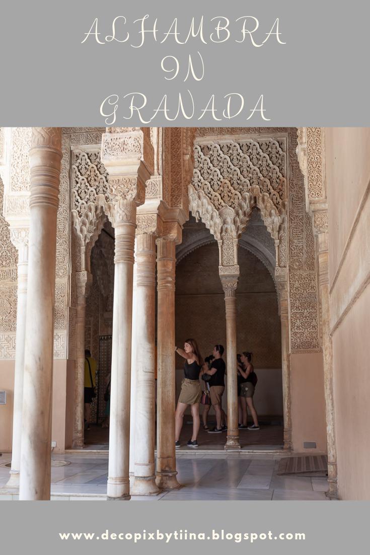Alhambra Granada Andalucia