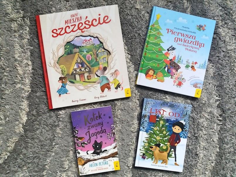 Książka dobrym prezentem na święta! Propozycje dla dzieci