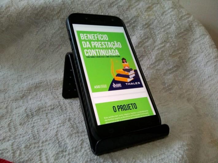 Cartilha Explica o BPC e Ensina como Pedir o Benefício