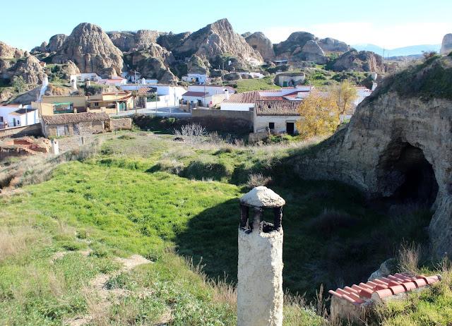 Barrio de las Cuevas. Guadix