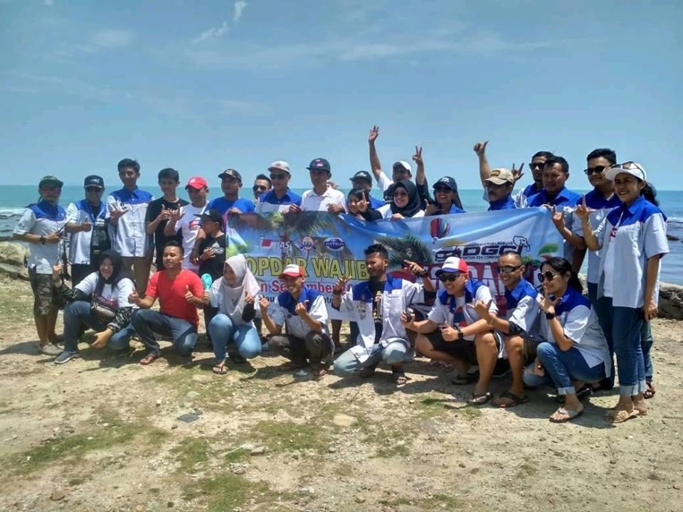 DGCI Siger Kencana Lampung Kopdar Wajib Sekaligus Touring Wisata