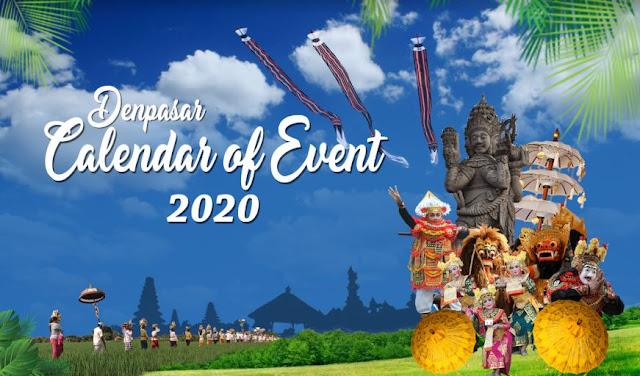 Denpasar Calendar of Event 2020