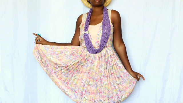 DIY // Crochet Lightweight Summer Scarf // Free Crochet Pattern.