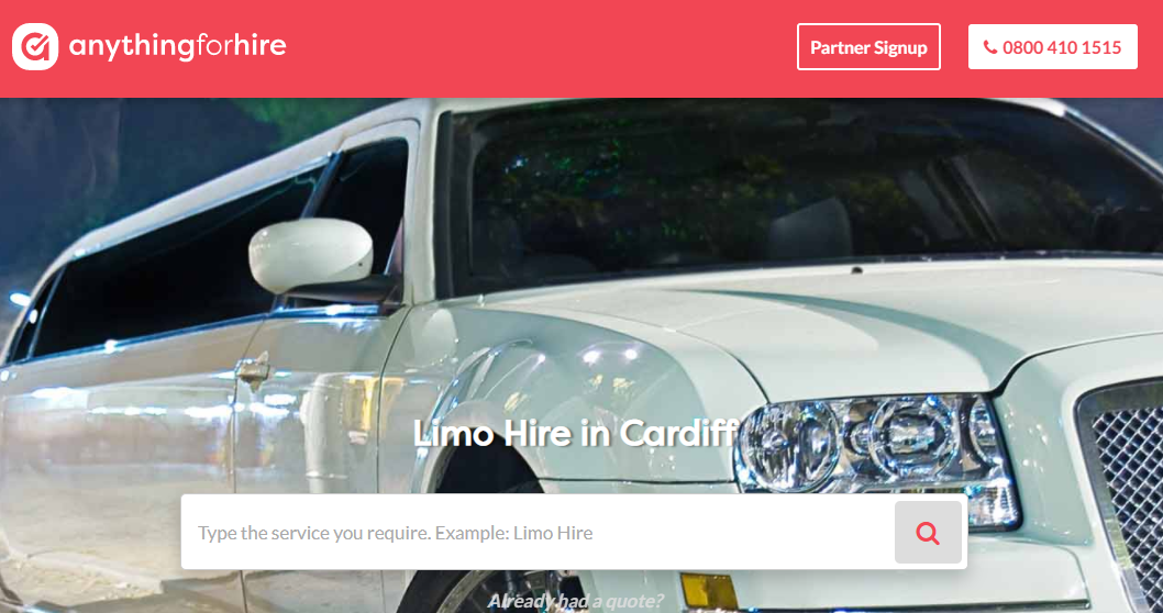 Limo Car Hire In UK