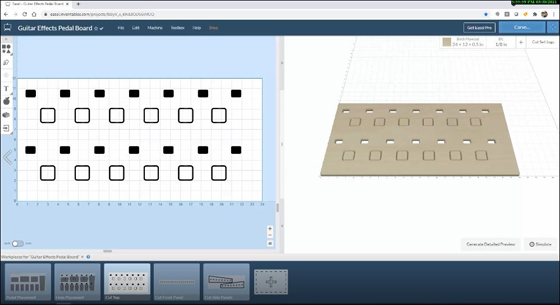 Easel Pro Pedal Board Design