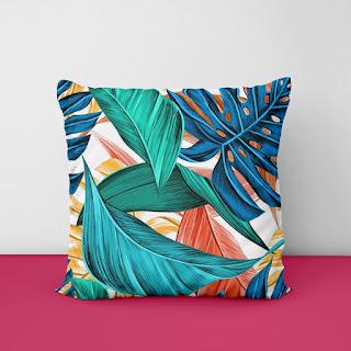 burgundy cushion covers