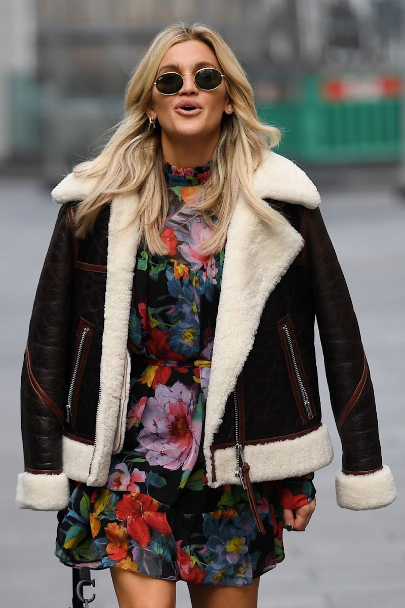 Ashley Roberts Spotted At Global Radio in London  10 Nov-2020