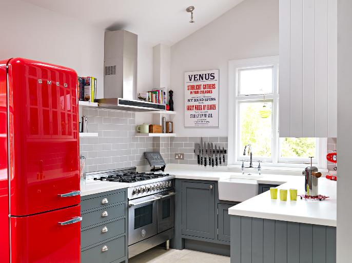 Dekorasi Ruang Dapur Kecil Yang Sempit