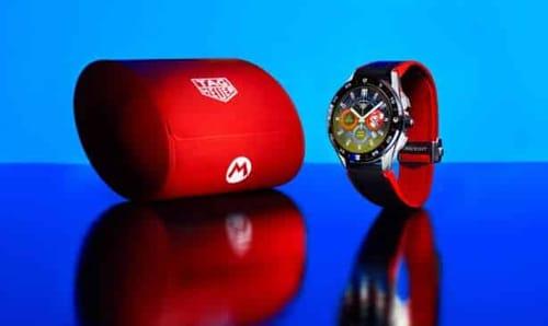 TAG Heuer announces the Super Mario smartwatch