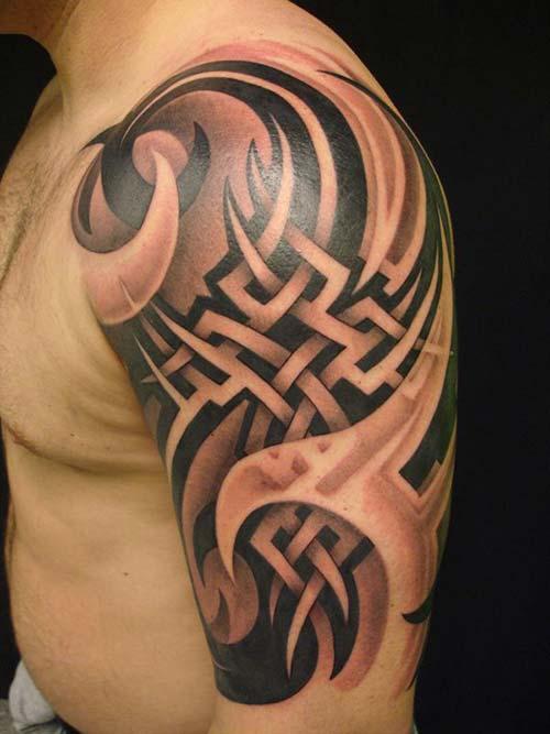 erkek tribal dövmeler man tribal tattoos 31