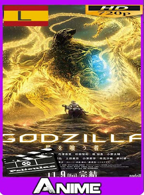 Godzilla 3: Hoshi wo Kuu Mono (2018)HD [720P] latino [GoogleDrive-Mega]