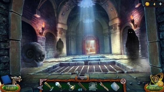 локация некрополь, где стоит череп в игре затерянные земли 4 скиталец