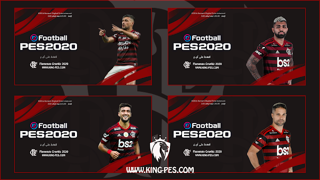 Flamengo Start Screen 2020 PES 17 - 18 - 19 By KING-PES