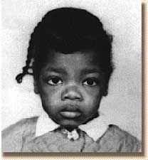 Oprah Winfrey as a lil kid, looking sooo sad