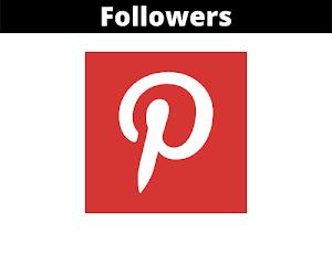 Jual Followers Pinterest Murah Terpercaya (100 Followers)