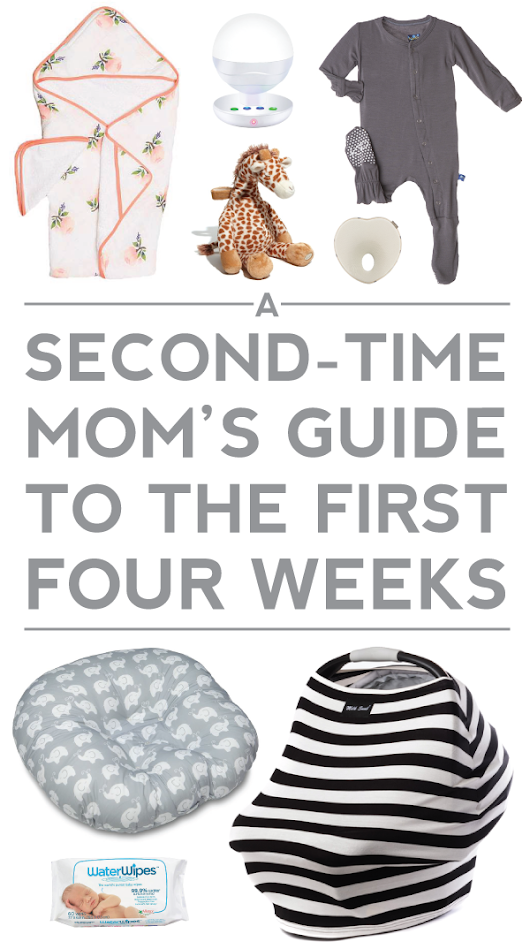 a second time mom's guide to the first four weeks.