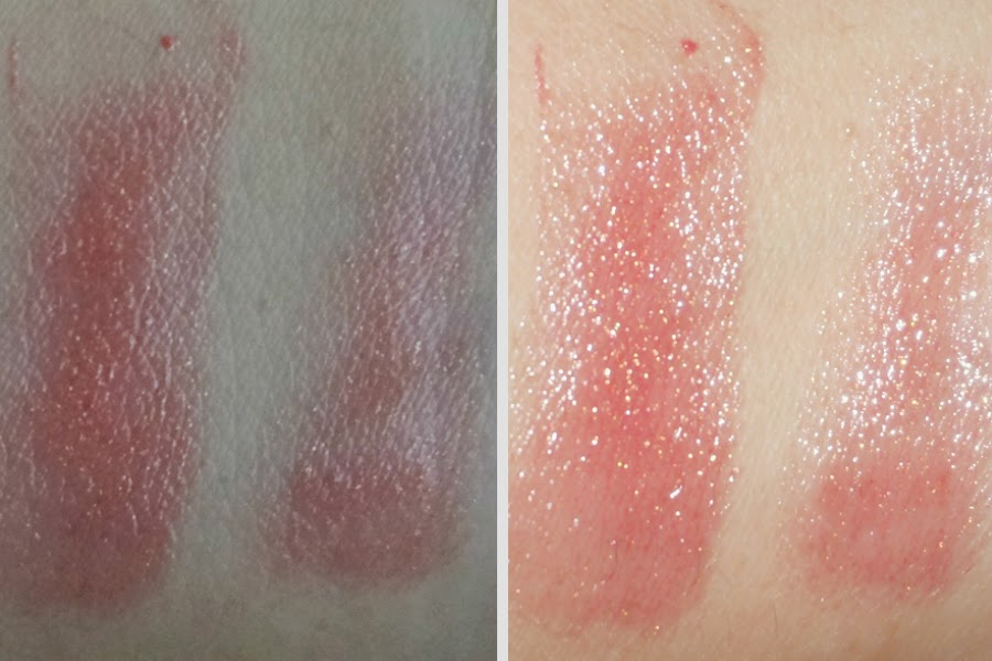 Swatches: (L) No Flash, (R) With Flash
