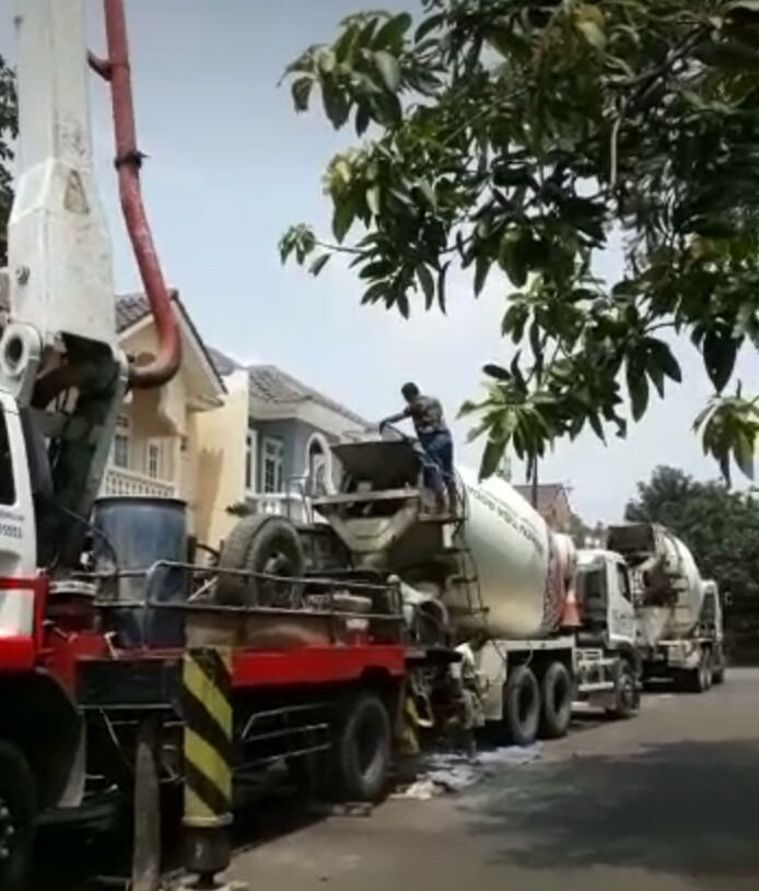 tenang saja pak boss kami kirim readymix beton cor kualitas bagus