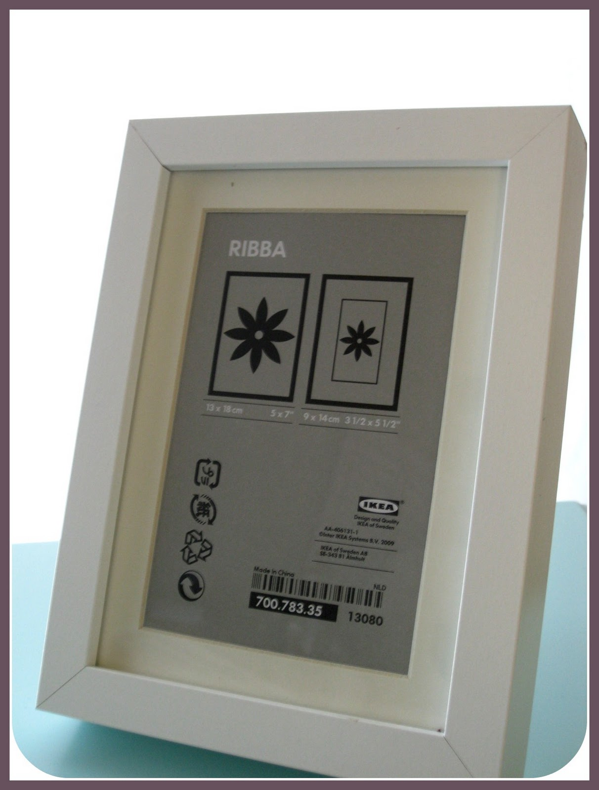 twenty something make an ikea ribba frame a shadow box. Black Bedroom Furniture Sets. Home Design Ideas
