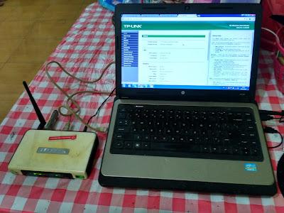 Setting Router TPLINK MR3220 dengan Modem 3G Huawei E173