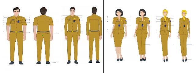 Permendagri Nomo 11 Tahun 2020 tentang pakaian dinas ASN – PNS di Lingkungan Kemendagri dan Pemda