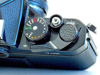 Nikon FE, Shutter Speed Dial