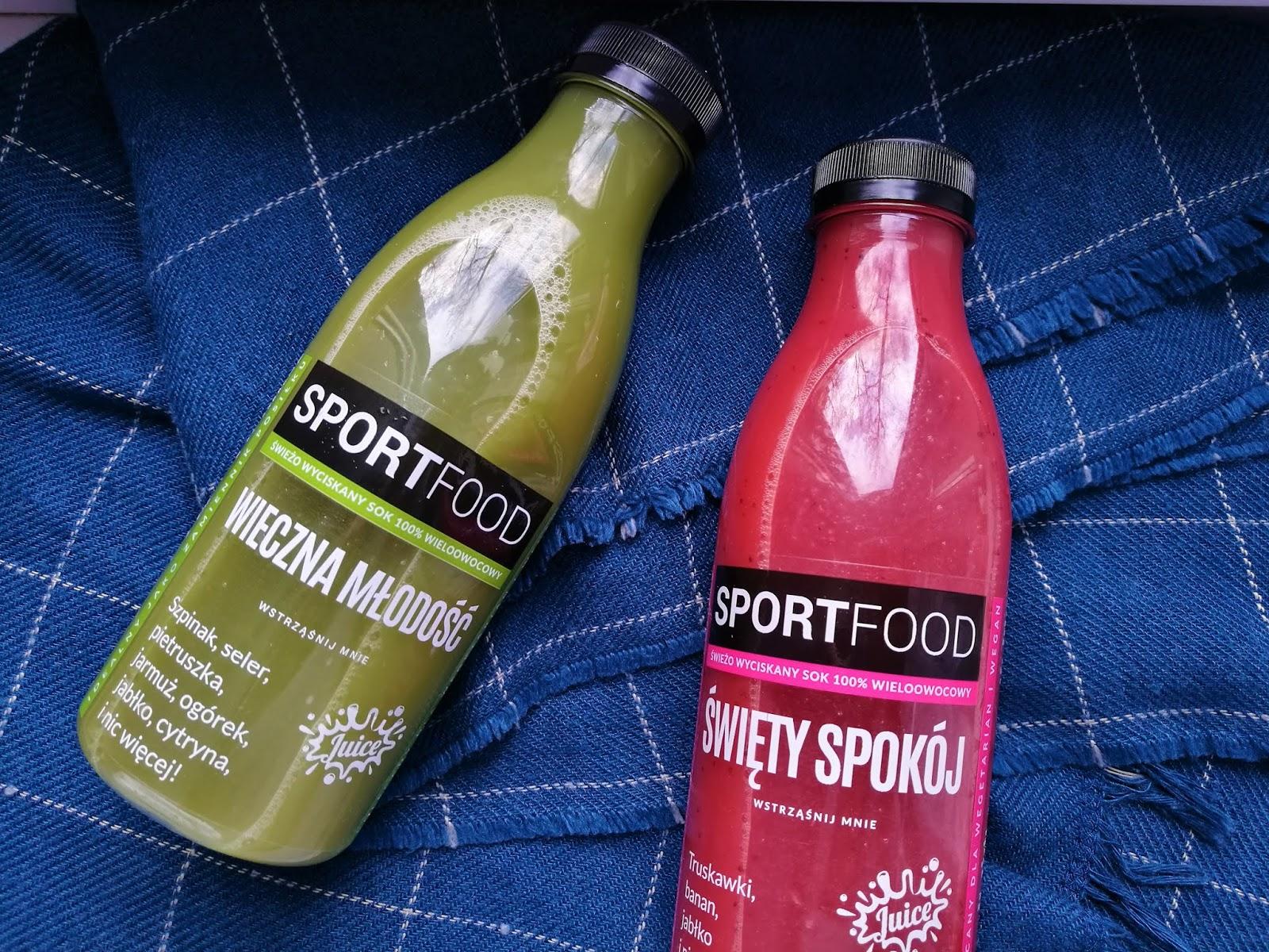 Oczyść swój organizm w 1 dzień z Sportfood!