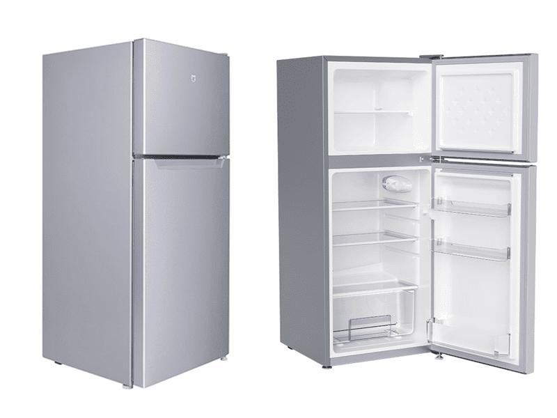 Double door small refrigerator