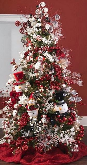 Beautiful Christmas Decorated Living Rooms: 70 Beautiful Christmas Tree Decoration Ideas