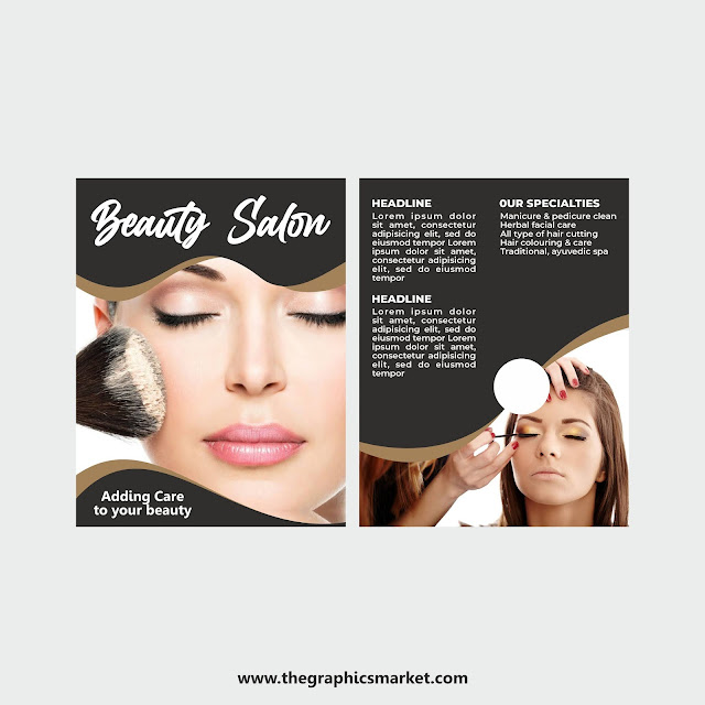 Beauty Salon Brochure, the graphicsmarket,