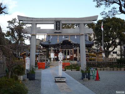 蒲田神社鳥居