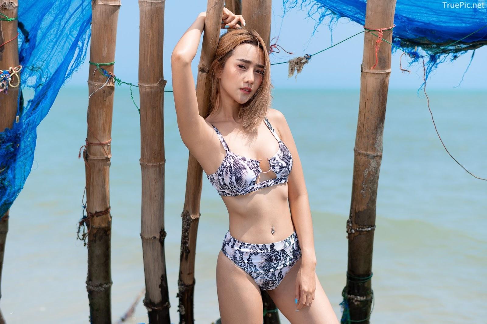 Thailand Hot Model - YingGy Ponjuree - Sea Vibes and Snakeskin Bikini - TruePic.net - Picture 4