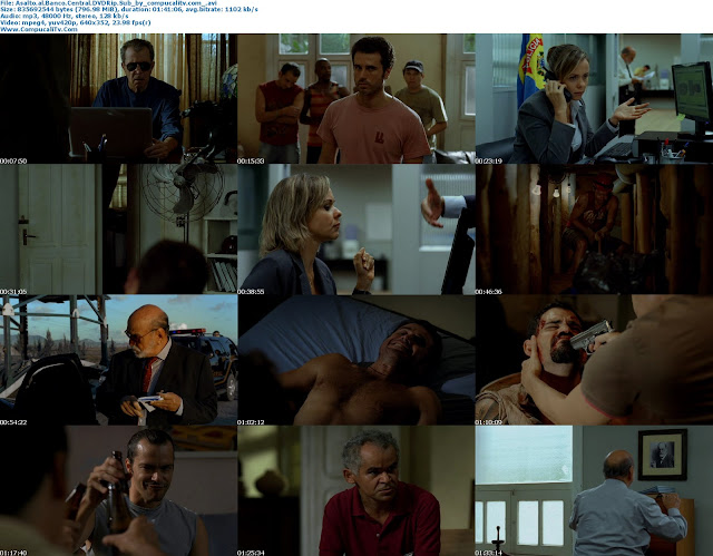 Asalto al Banco Central [Assalto ao Banco Central] 2011 DVDRip