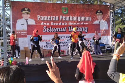 Senam Bersama Dan Jalan Sehat Lombok Utara