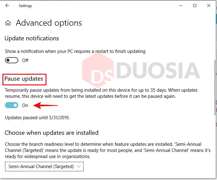 cara mematikan windows update sementara