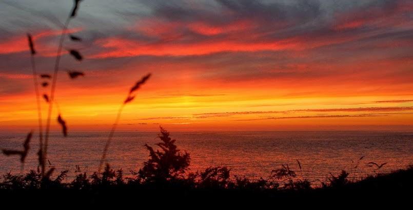 Bajeczne niebo nad wyspą Molène / Un ciel de rêve sur L'Île Molène