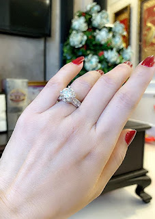 Trinh Kim Chi được tặng nhẫn kim cương 10 tỷ nhân kỷ niệm ngày cưới