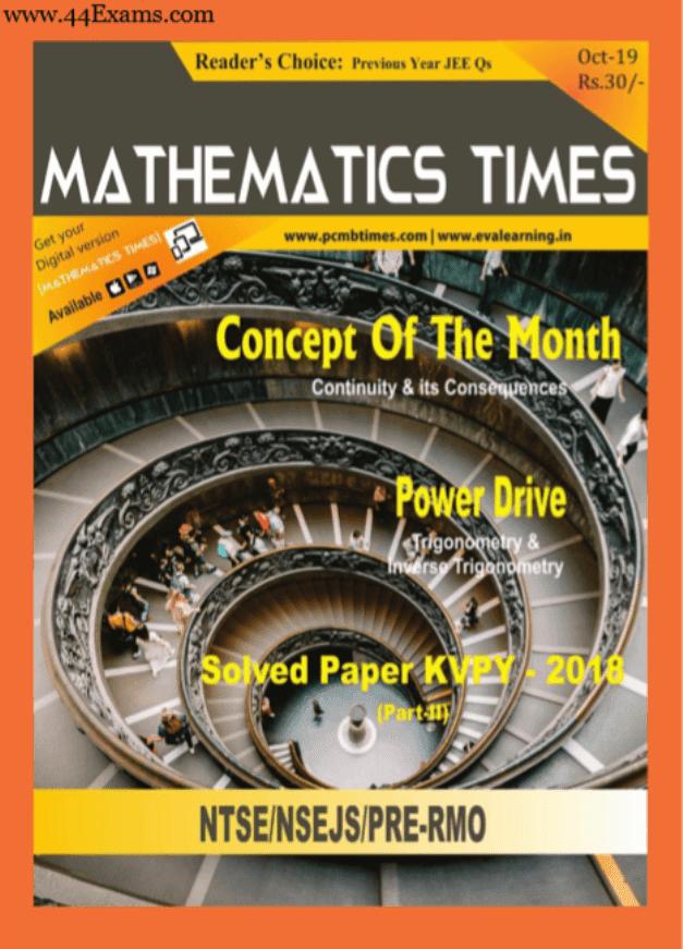 Mathematics-Times-Magazine-October-2019-For-JEE-Exam-PDF-Book