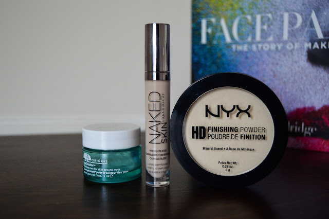 Banish the Under Eye Circles - NYX Banana Powder, Origins Eye Doctor, Urban Decay Naked Concealer Review