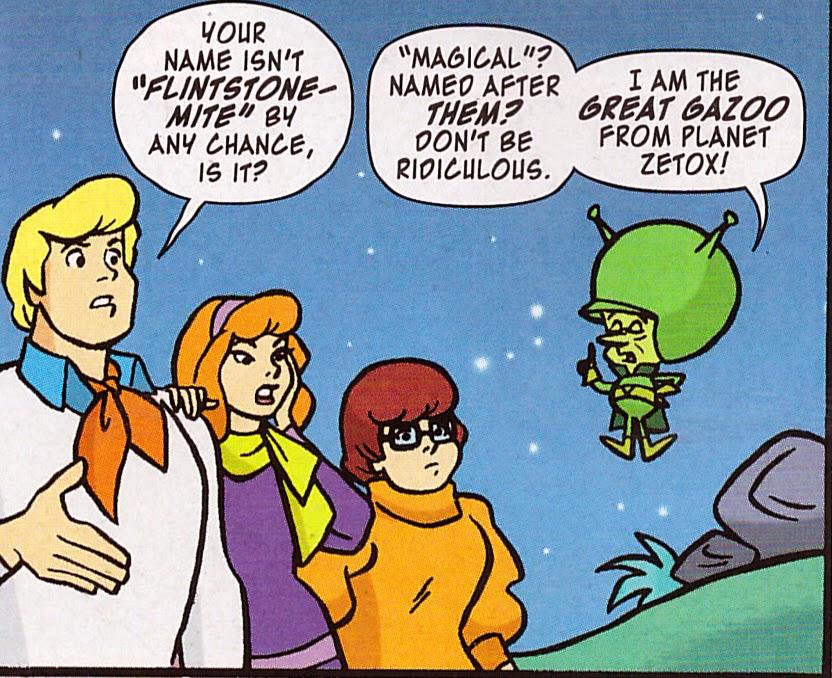 Exclusive Preview: Scooby-Doo Team-Up #7 — Good Comics for ... |Scooby Doo Meets The Flintstones