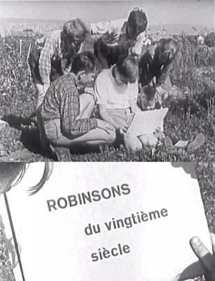 Eine Insel für Robinson / Robinsons du vingtième siècle. 1956.