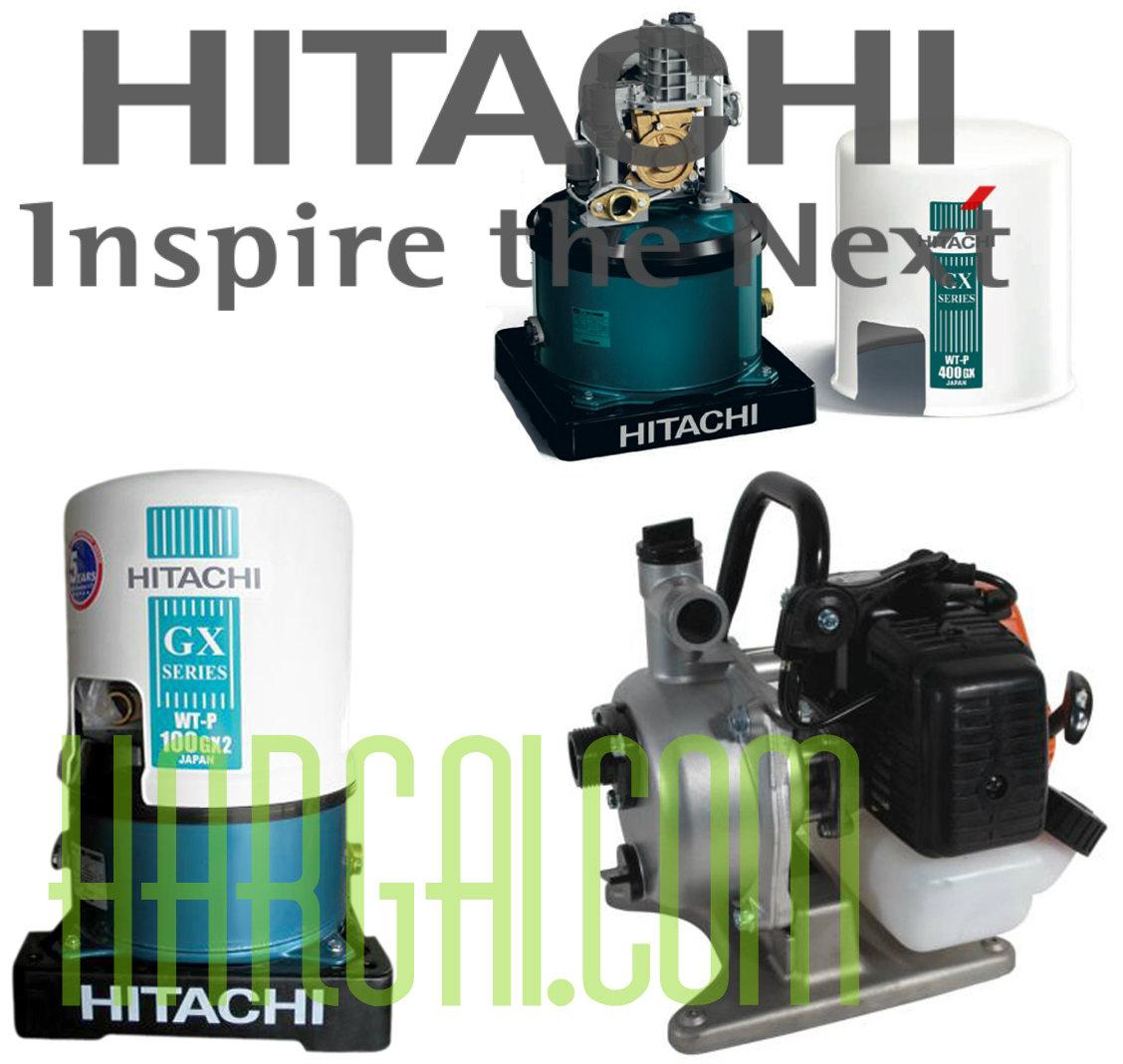 Daftar Harga Pompa Air Hitachi Terbaru Agustus September Oktober November Desember 2016