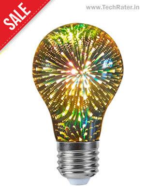 3D LED Firework Light Bulb Lamp (4 Watt )