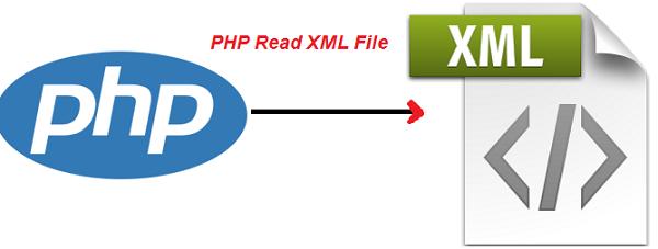 php read xml file web development and web design codes