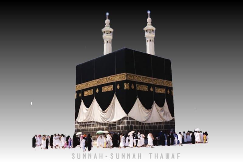 13 Sunnah-Sunnah Thawaf dan Penjelasannya