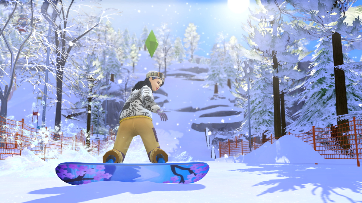 The SIMS 4 Add-On Review: Snowy Expanse screenshot 2