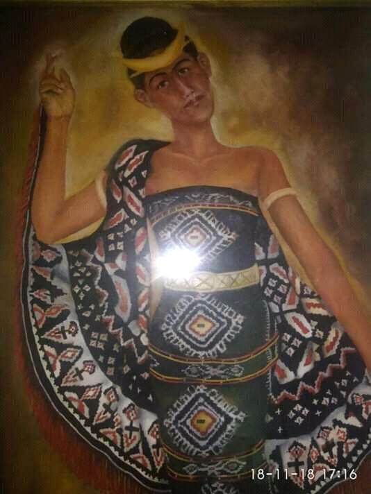Tarian Rote : tarian, Lukisan, Budaya