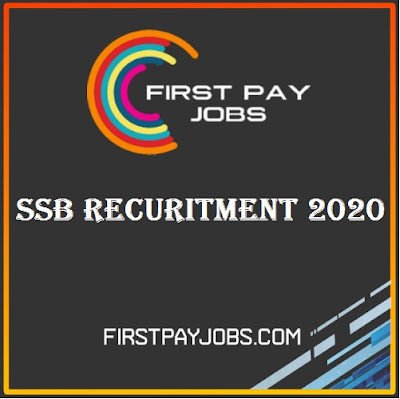 SSB Recuirment 2020 Constable Jobs