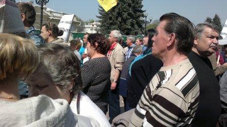 Фоторепортаж с митинга в Киеве (26.04.12)